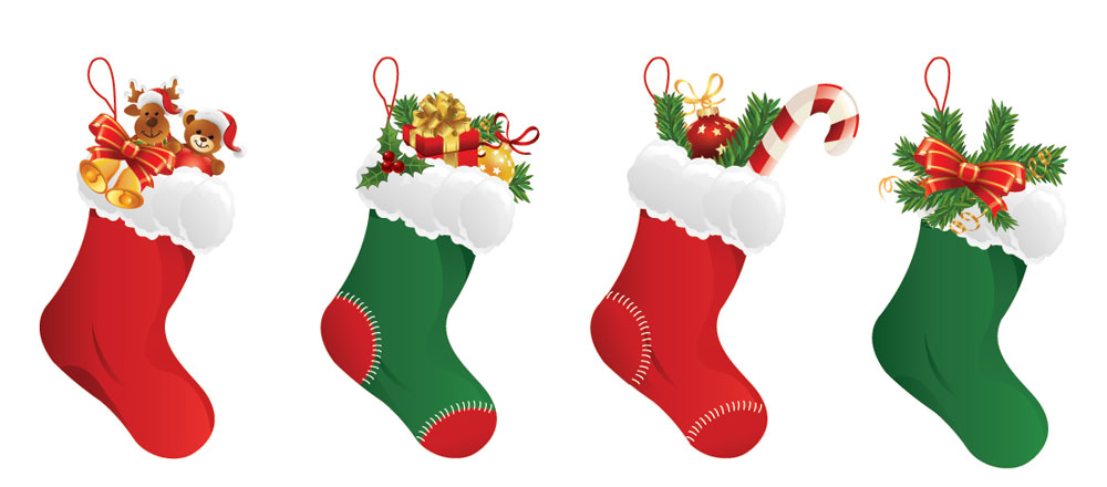 Ideal Market Christmas Stockings