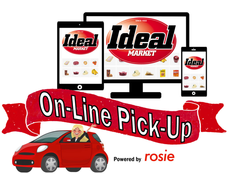 Ideal Order Groceries On-Line, Pick-up at Store Service