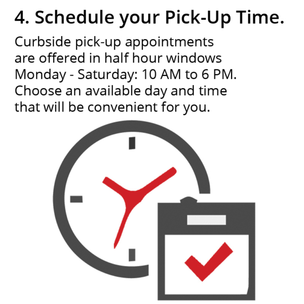 Schedule Pick-Up Time